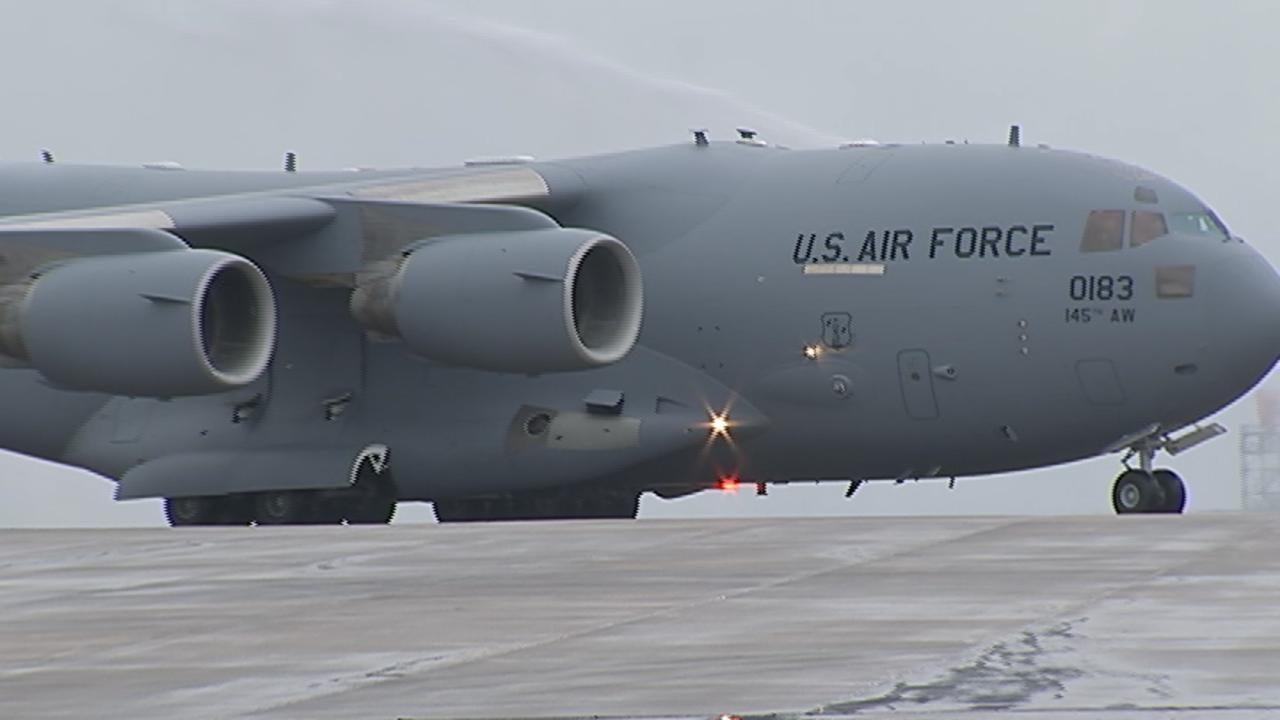 NC Air National Guard transitions to C-17 aircraft | WSOC-TV