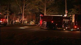 IMAGES: Fire engulfs home near Steele Creek