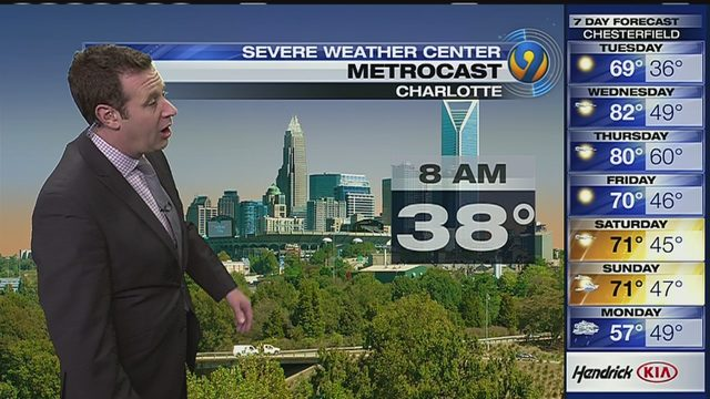 CHARLOTTE WEATHER FORECAST: Cleanup continues after harrowing storm: 'It  was like a whirlwind'   WSOC-TV