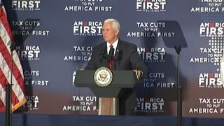 Vice President Pence visits Charlotte, campaigns for GOP, tax law