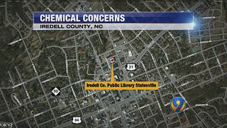 Iredell County closes library due to possible chemical contamination