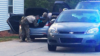 One in custody after FBI operation at west Charlotte home