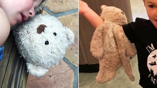 Family returning from Disney desperate to find teddy bear lost along I-77