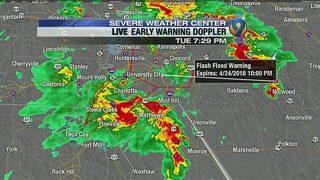 7:30 p.m. weather update