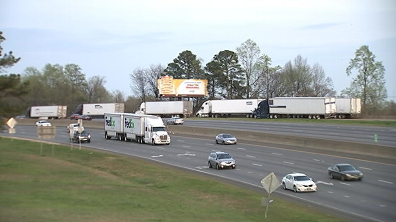 Exit ramps becoming truck parking lots thanks to federal rule change