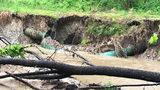 Broken pipe dumps 15.4 million gallons of sewage into Charlotte creek
