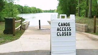Dangerous river speeds force kayak launches to close along the Catawba