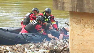 RIVER RESCUE: Stranded kayaker pulled from South Fork Catawba River