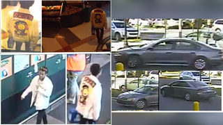 PHOTOS: Suspect and car in Charlotte hit-and-run