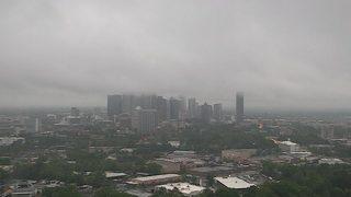 Rain moves through Charlotte ahead of dry weekend