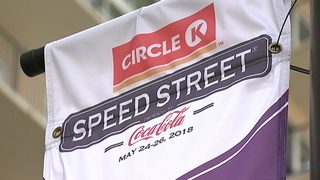 Road closures for Speed Street in uptown Charlotte