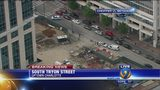 Construction worker dies after fall from uptown building, officials say