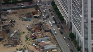 24-year-old man dies after fall from uptown high rise under construction, officials say