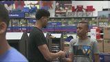 Hornets' Lamb takes children on shopping spree in Matthews