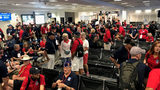 Military veterans travel to Washington, D.C., on Queen City honor flight