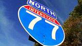 Multiple-car crash on I-77 northbound backs up traffic