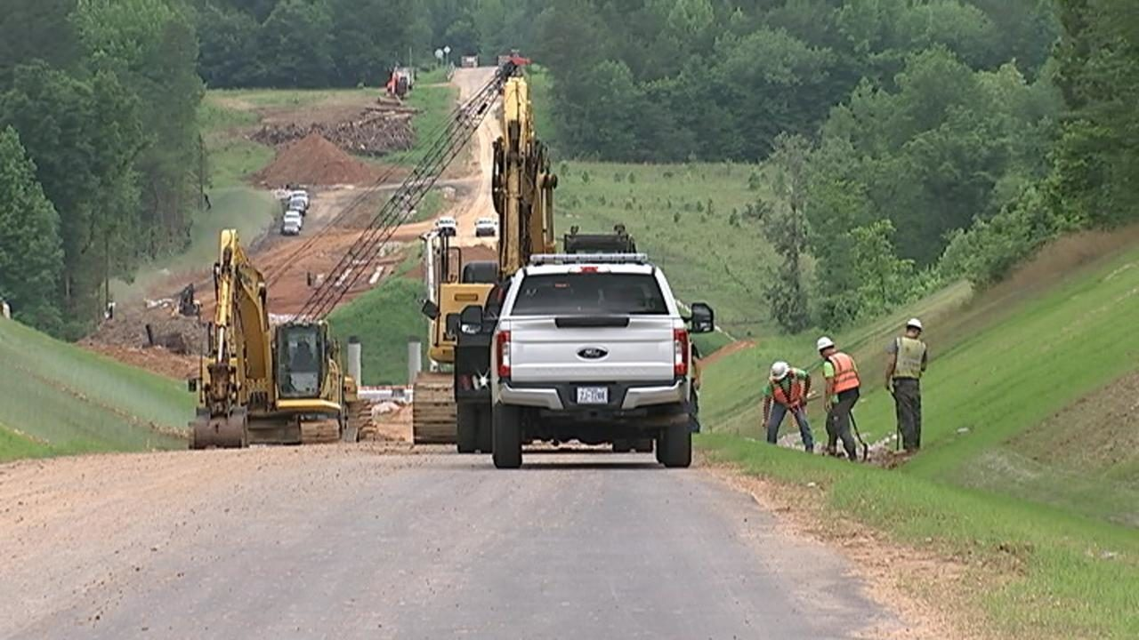 Rowan County residents upset about NCDOT's road project