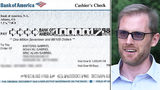 Waxhaw family returns check incorrectly written for $1 million