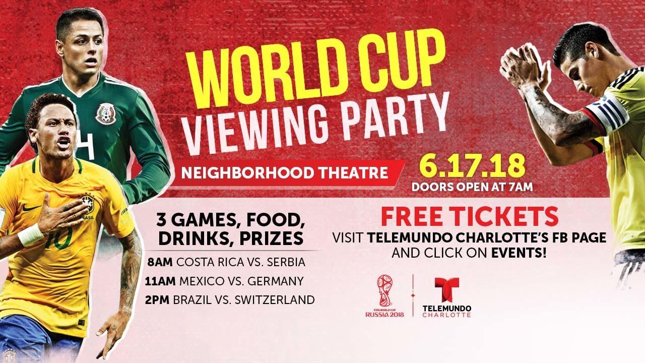 Watch the World Cup with Telemundo Charlotte | WSOC-TV