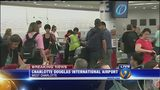 Thousands stranded at Charlotte airport because of technical issue