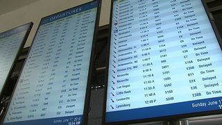 More cancellations this morning at Charlotte airport caused by glitch
