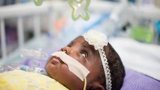 UPDATE: Drug company to help Charlotte newborn battling rare disease
