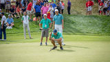 Pro golfer meets 2 North Carolina teens with chronic illnesses during Pro-am