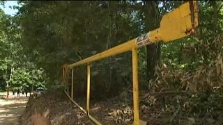 9 investigates complaints of taxpayer money used to work on private road