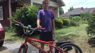 Rock Hill officers locate missing bicycle custom made for boy with autism