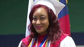 Abandoned as a newborn, NC teen graduates from high school