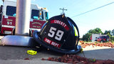 Firefighter's body to return to Rowan County Friday after deadly crash