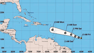 Beryl becomes first hurricane of 2018 Atlantic season
