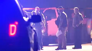 Deputy shot during traffic stop out of surgery; hunt for gunman continues