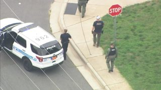 PHOTOS: Police investigating homicide near Charlotte greenway