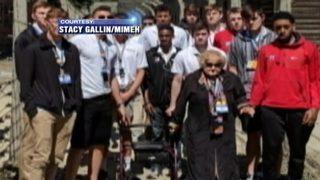 Davidson basketball team visits holocaust concentration camps