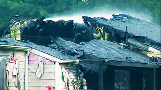 Recovery efforts underway after huge apartment fire displaces 15 families