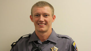 Caldwell County deputy shot in the line of duty returns to work