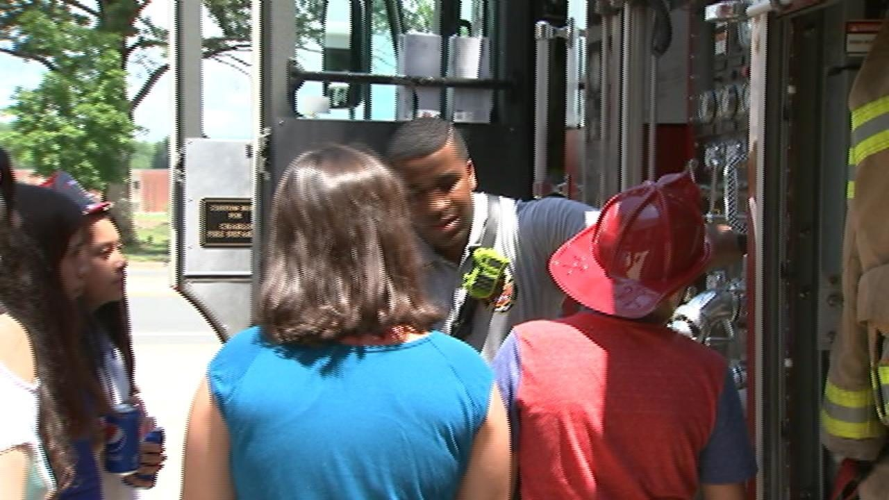 CHARLOTTE FIREFIGHTERS: Firefighters from busy Charlotte station