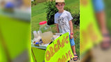 Union Co. boy back at it day after lemonade stand was robbed by armed teenager