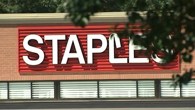 STAPLES ACCUSED SHOPLIFTING: Manager at Pineville Staples