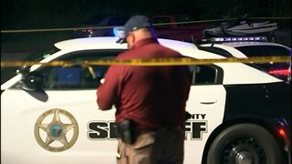 IMAGES: Cleveland County deputy shot along Highway 74