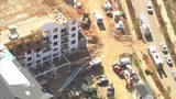 Worker injured after falling at south Charlotte construction site