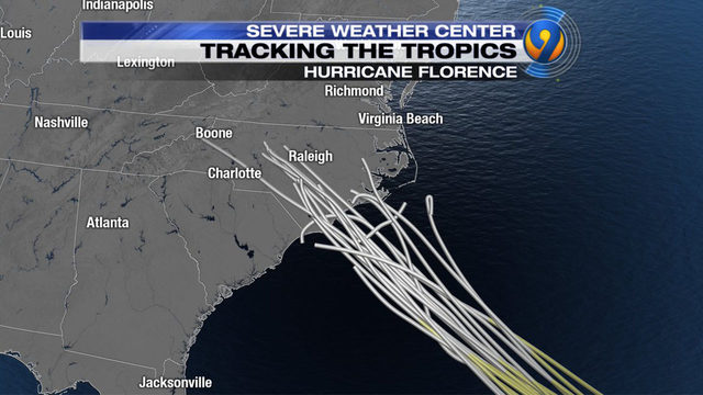 MINUTE-BY-MINUTE:Potentially catastrophic Florence eyes
