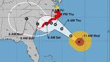 'Monster' Hurricane Florence nears Carolina coast