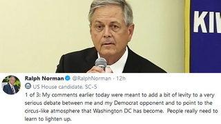 SC Rep. Norman defends sex assault joke:
