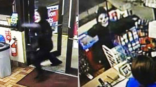 UPDATE: Man wearing clown mask charged in 2 armed robberies