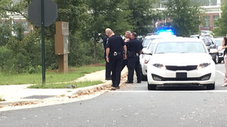 PHOTOS: Gunman opens fire outside Charlotte elementary school while children dropped off