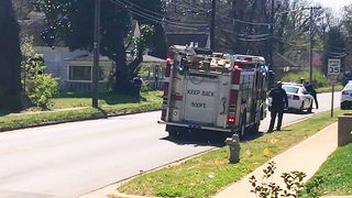 Police surround Kings Mountain home, remove 2 adults, child