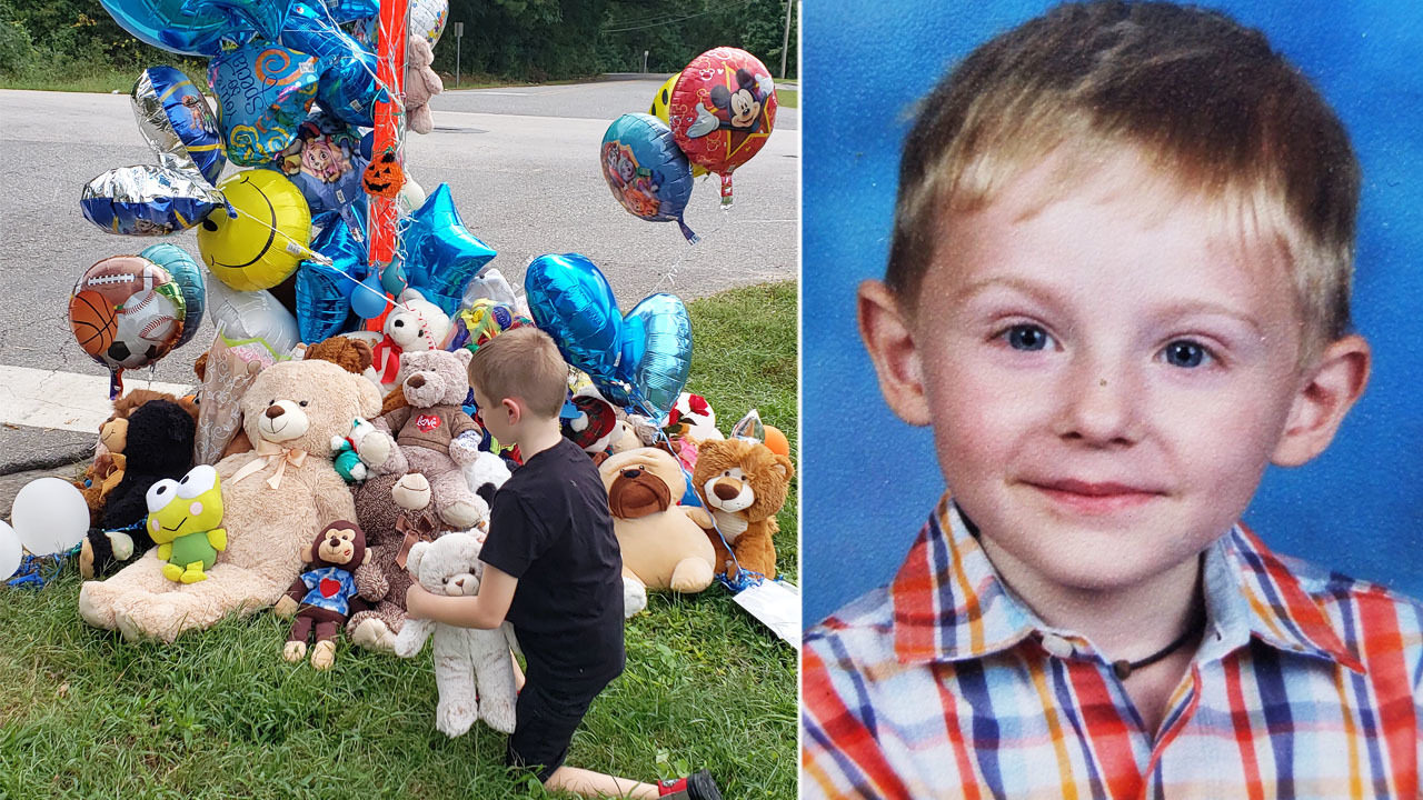7a56e47a9 MISSING 6-YEAR-OLD MADDOX RITCH: 'Just a sweet innocent child': Memorial  grows for 6-year-old Maddox Ritch | WSOC-TV