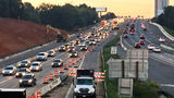 Toll lane project shuts down busy I-77 ramp near uptown for months